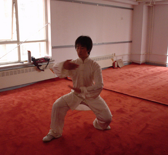 Wushu master,one of the many Chinese Material Arts that can be studied