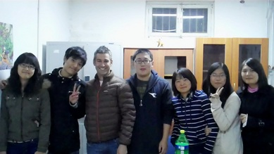 Language Exchange between Chinese and International Students